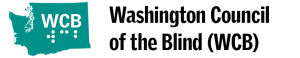 Washington Council of the Blind logo
